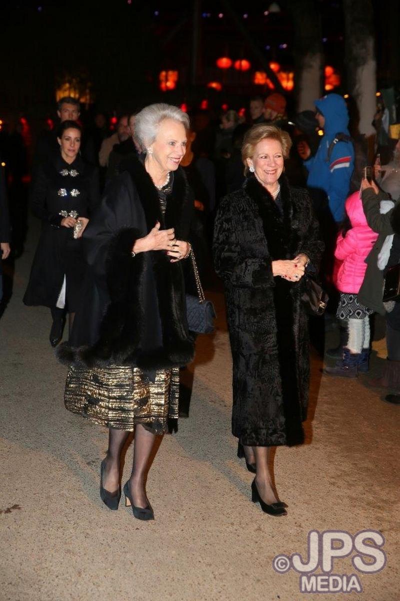 Snödrottningen - Premiär med Prinsesse Benedikte & Dronning Anne-Marie