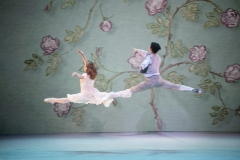 Snödrottningen (Scen 6) - Laurie Nielsen som Gerda och Vincent Vernal som Kay i kärleks-pas-de-deuxen