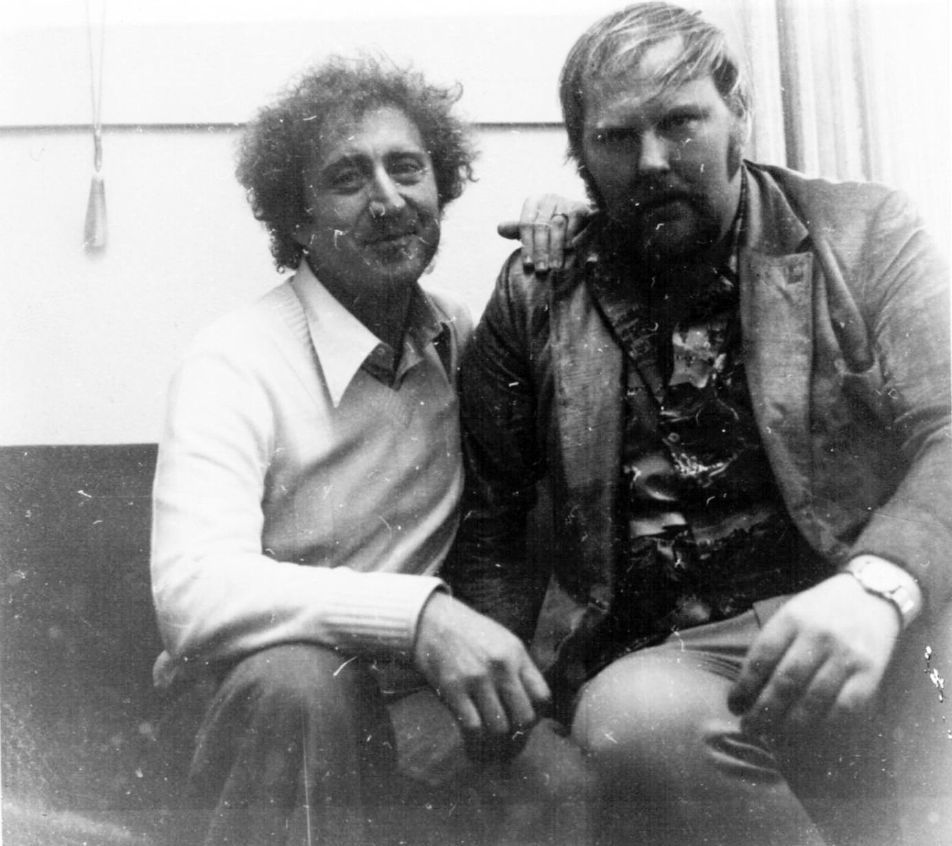 Hollywood - Roland med Gene Wilder som gärna ville bli en ny Cary Grant och Silver Streak kunde bli hans North By North West