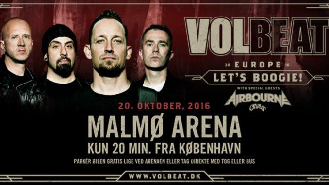 Volbeat har vaxt till ett arenaband