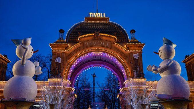 Tivoli Fler Attraktioner öppna För Vinter Jps Media