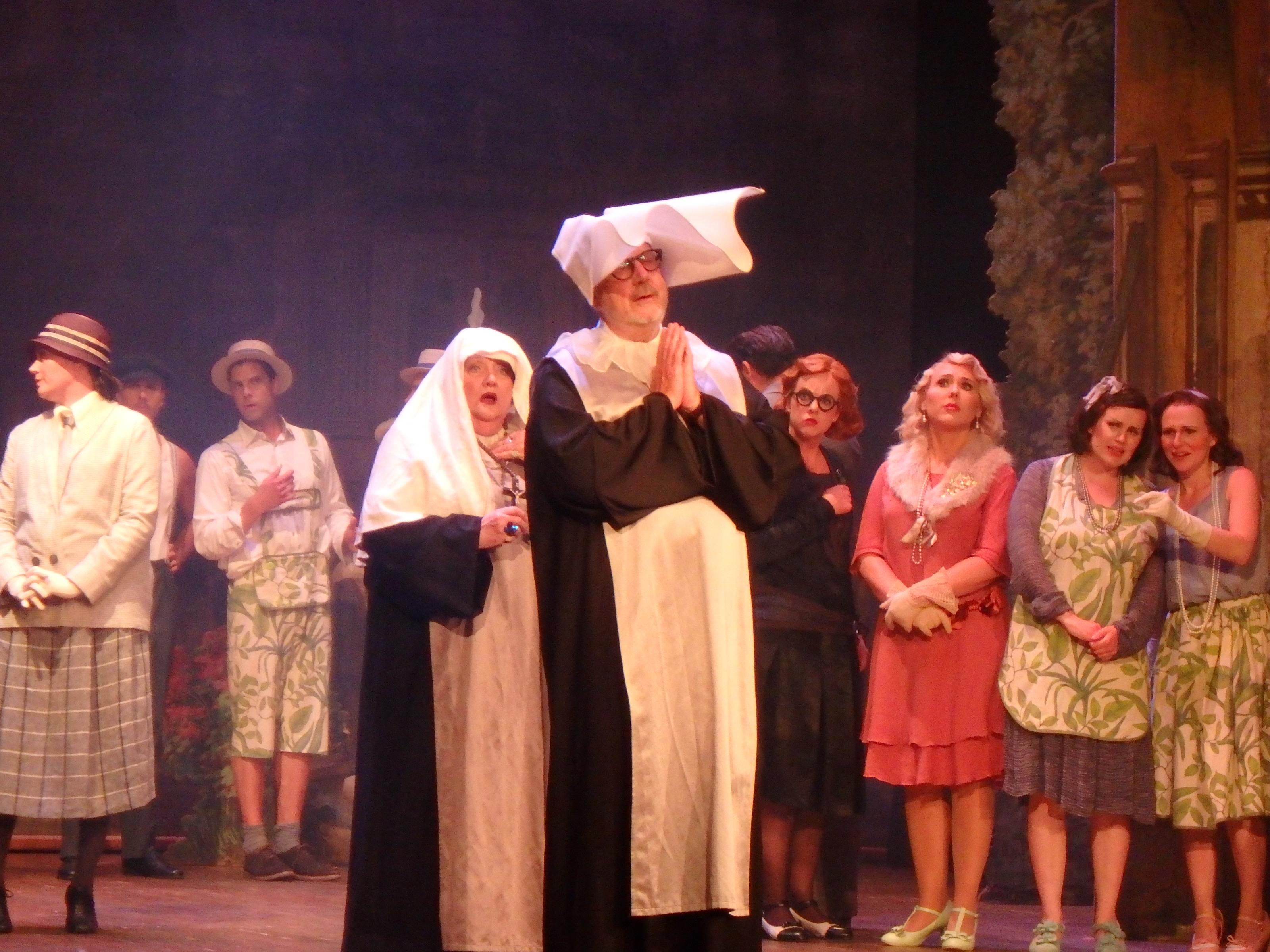 En nunna för mycket med Marianne Mörck och Sven Melander - Foto: Belinda Graham