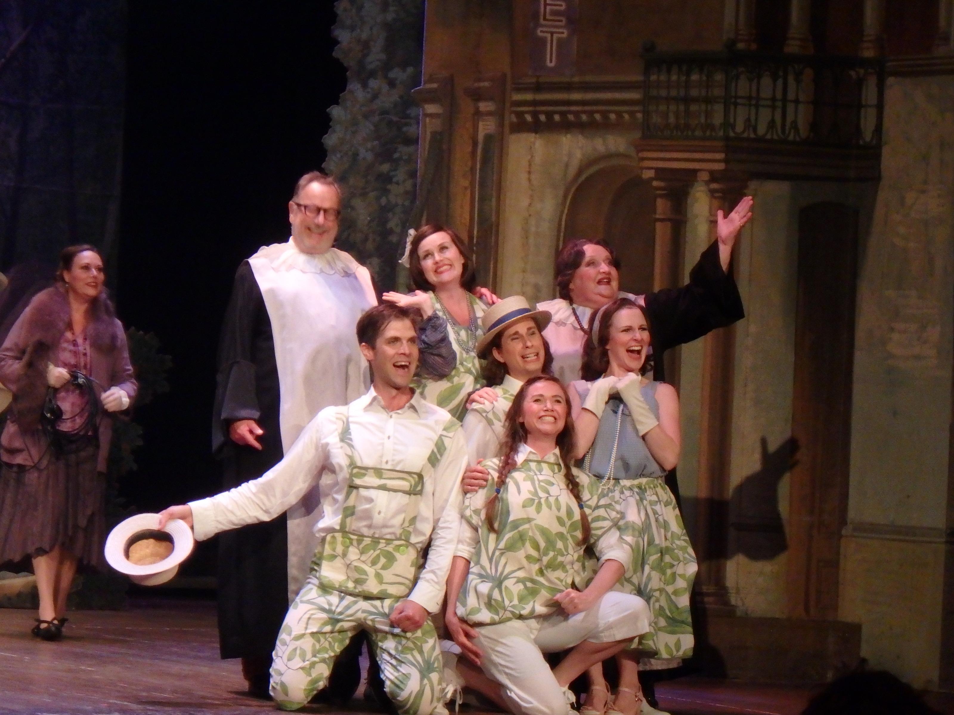 Den sjungande familjen Tripp Trapp Trull - Foto: Belinda Graham