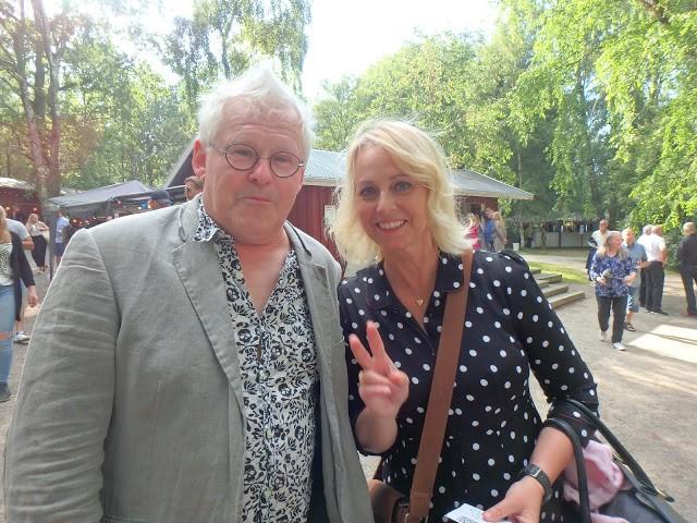 Annika Andersson är en STOR favorit på Vallarna! I år satt hon i publiken och stod inte på scenen - Foto: Belinda Graham