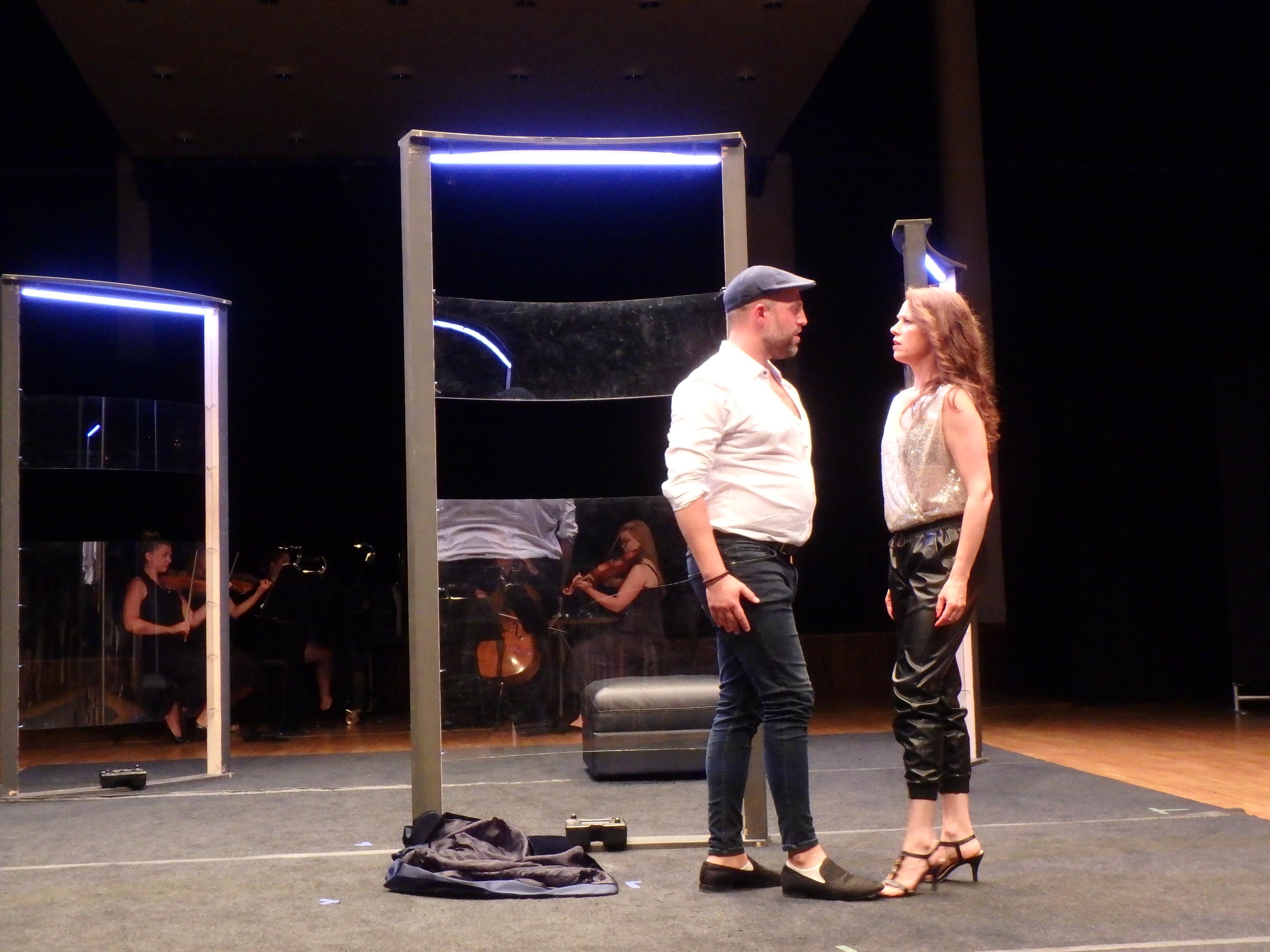 Don Giovanni och Elvira på Palladium - Foto: Belinda Graham