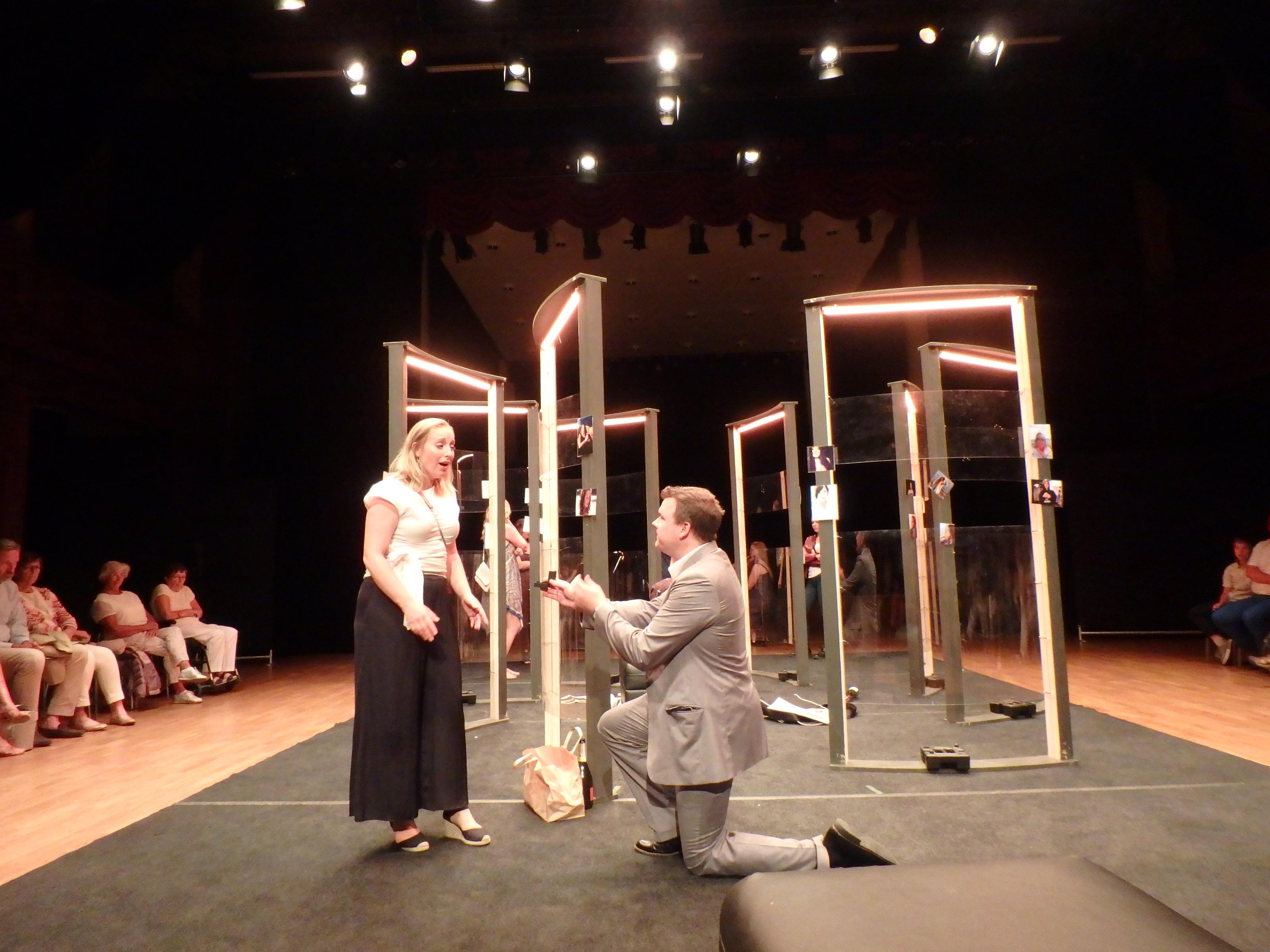 Äntligen! Lyckligt slut för Anna och Ottavio! - Foto: Belinda Graham