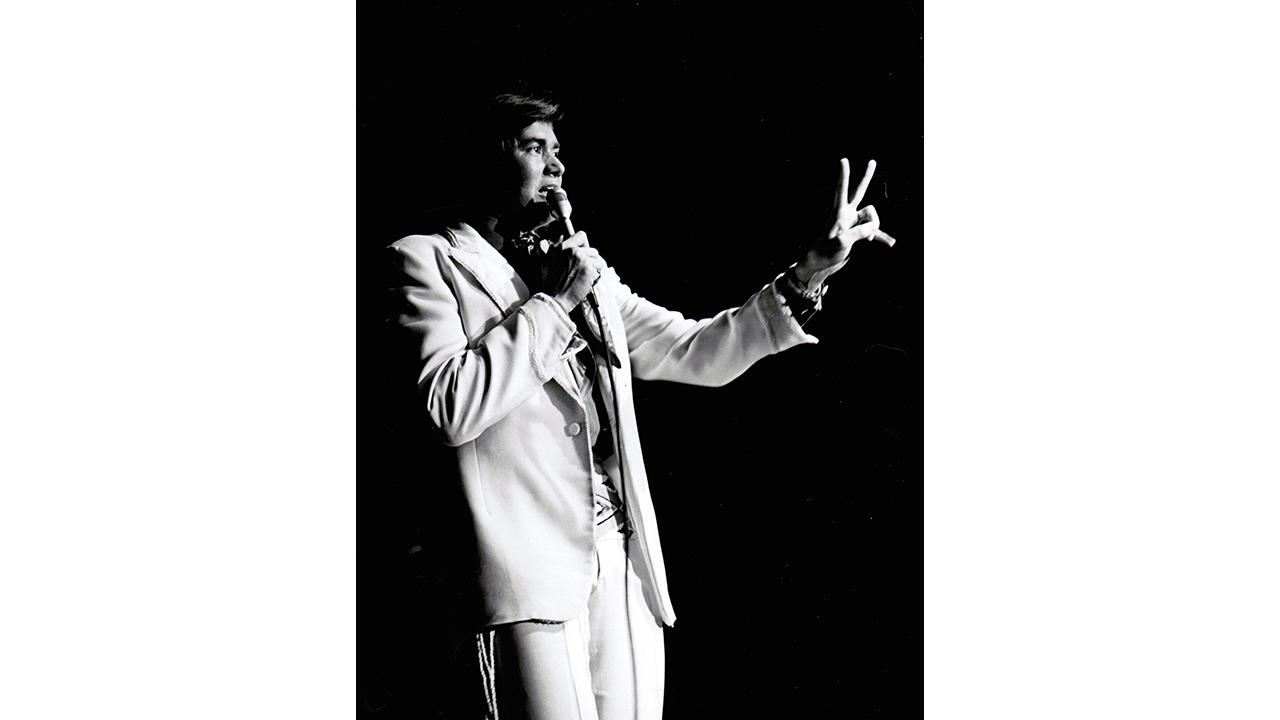 Las Vegas – Wayne Newton i Las Vegas den enda plats på jorden där han var kung