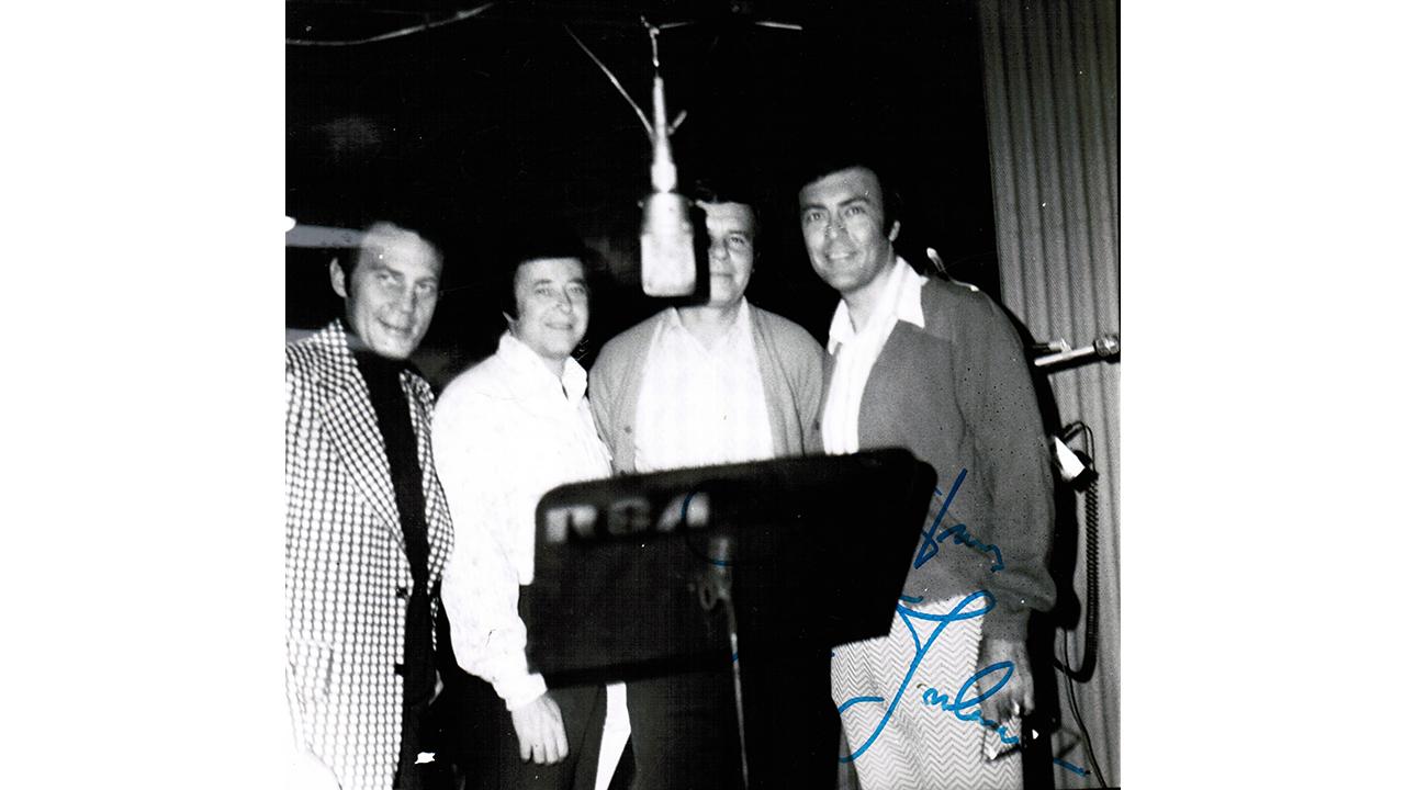 Nashville – The Jordanaies rakt upp och ner i en inspelning med Jones Wynette