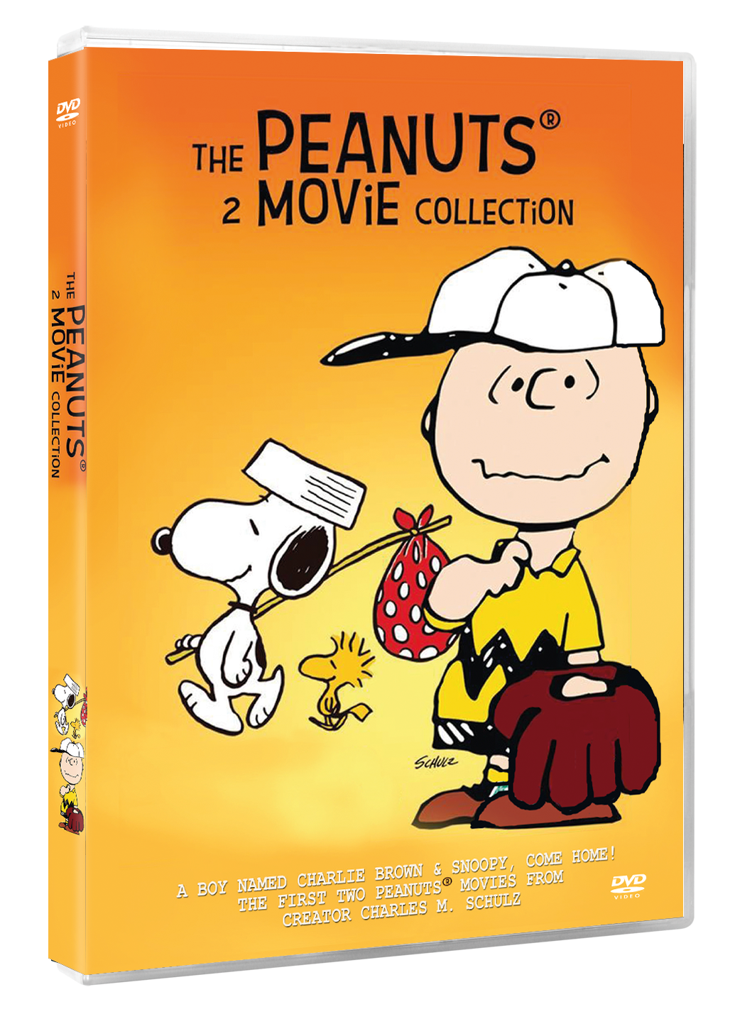 Snoopy The Peanuts 2 Movie Collection DVD